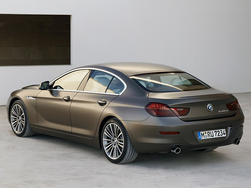 BMW 6 Series Gran Coupe 2012 - present